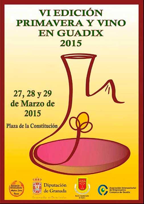 Primavera y vino Guadix