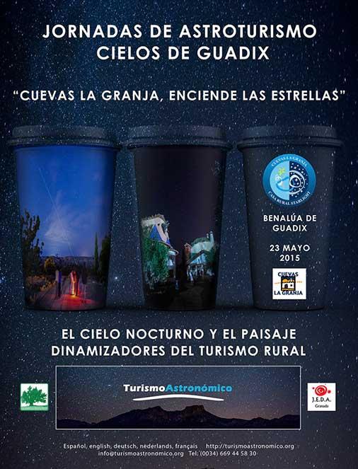 Jornadas astroturismo en Cuevas La Granja