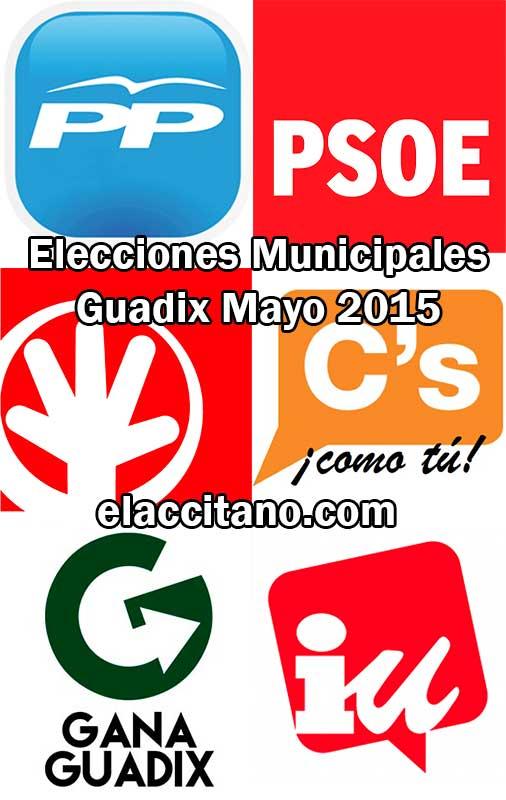 Elecciones municipales Guadix