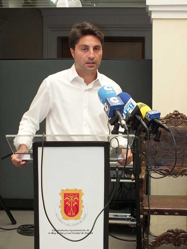 Ivan Lopez Ariza concejal de Guadix