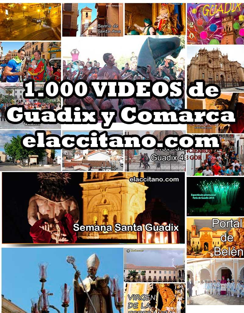 1000 videos de Guadix y comarca