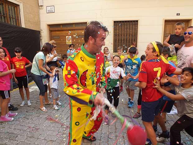 Cascamorras infantil Guadix 2015