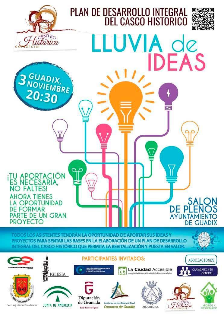 Lluvia de ideas en Guadix