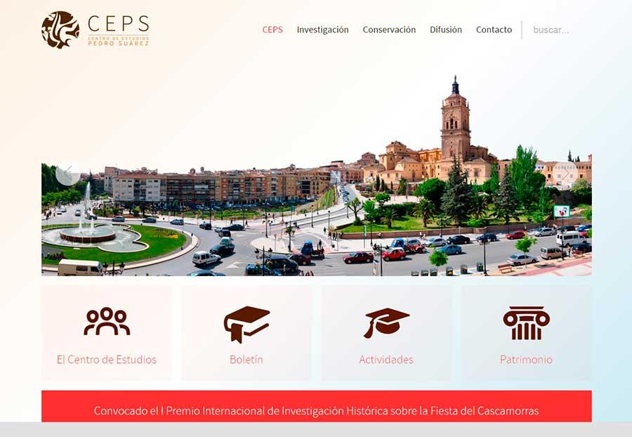 Web centro de estudios Pedro Suarez