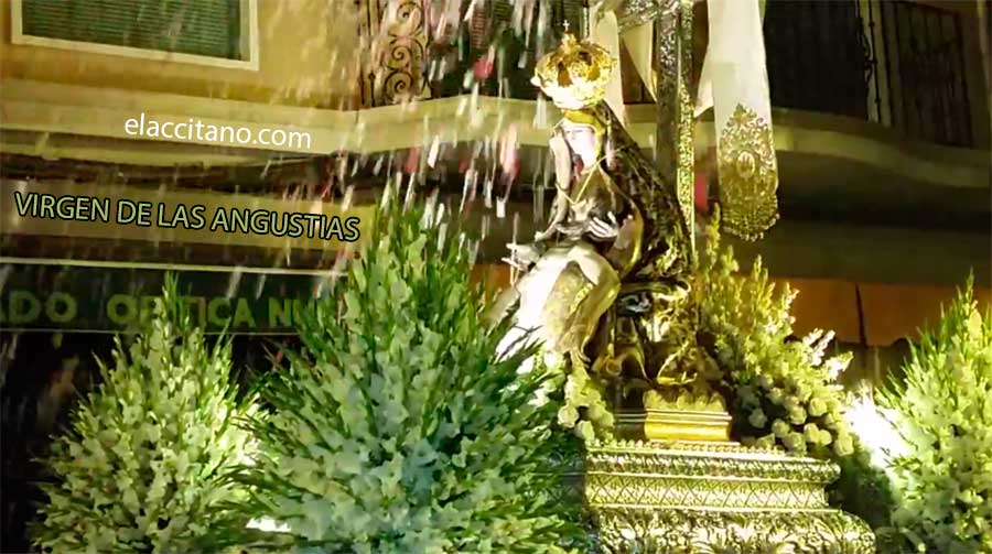 Petalá a la Virgen de las Angustias