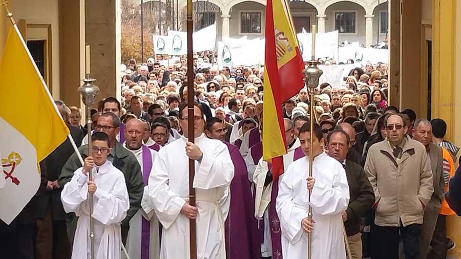 Peregrinacion de la Diocesis de Guadix