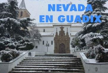 Se cumple un año de estas espectaculares imágenes de la nevada en Guadix