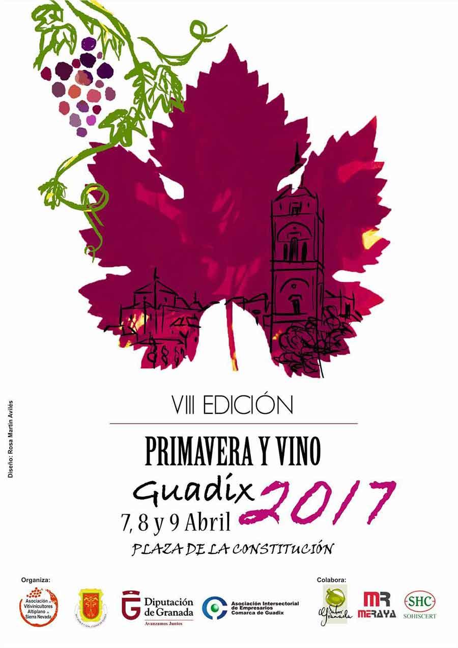 Primavera y vino Guadix 2017