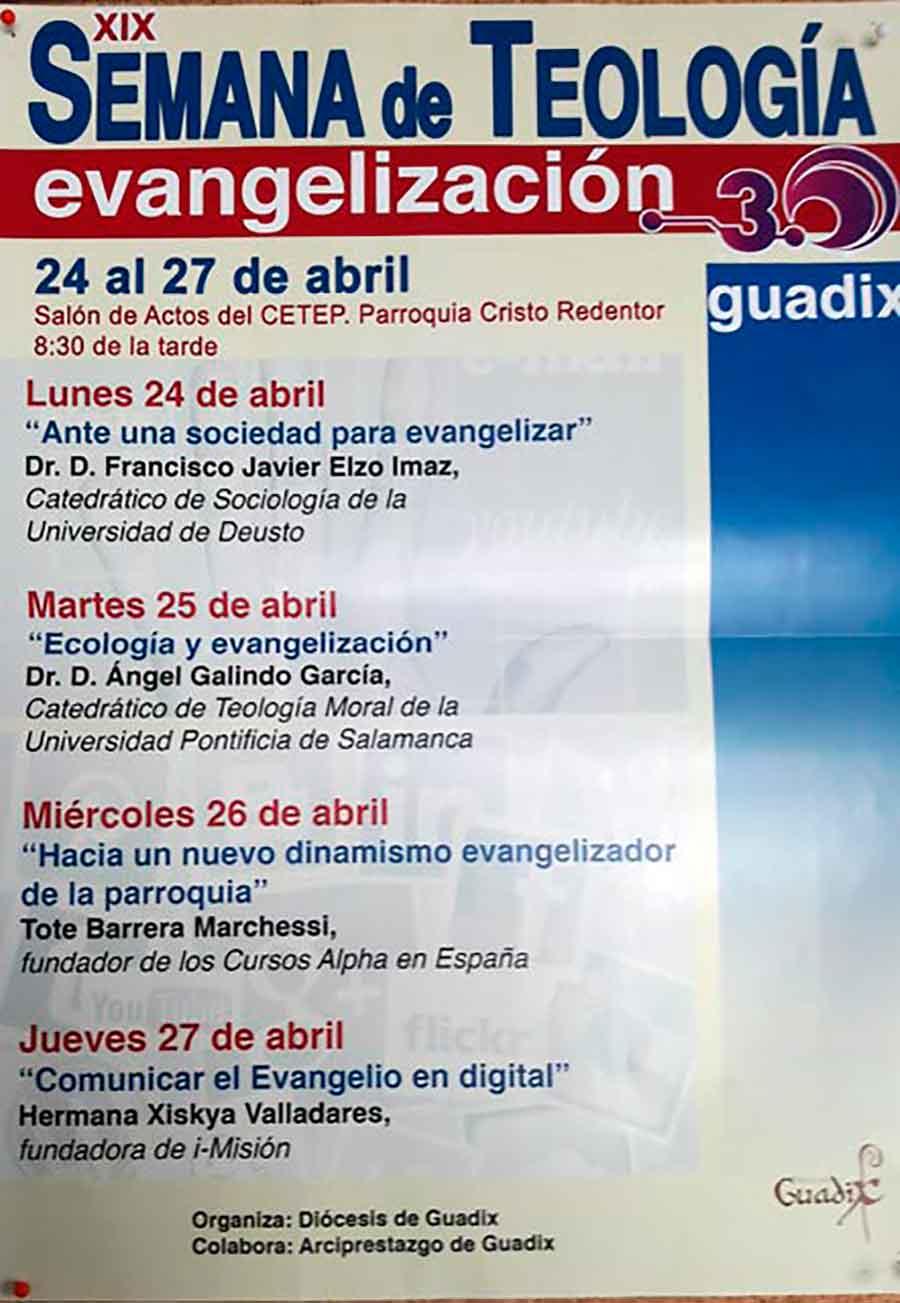 Semana de teología Guadix