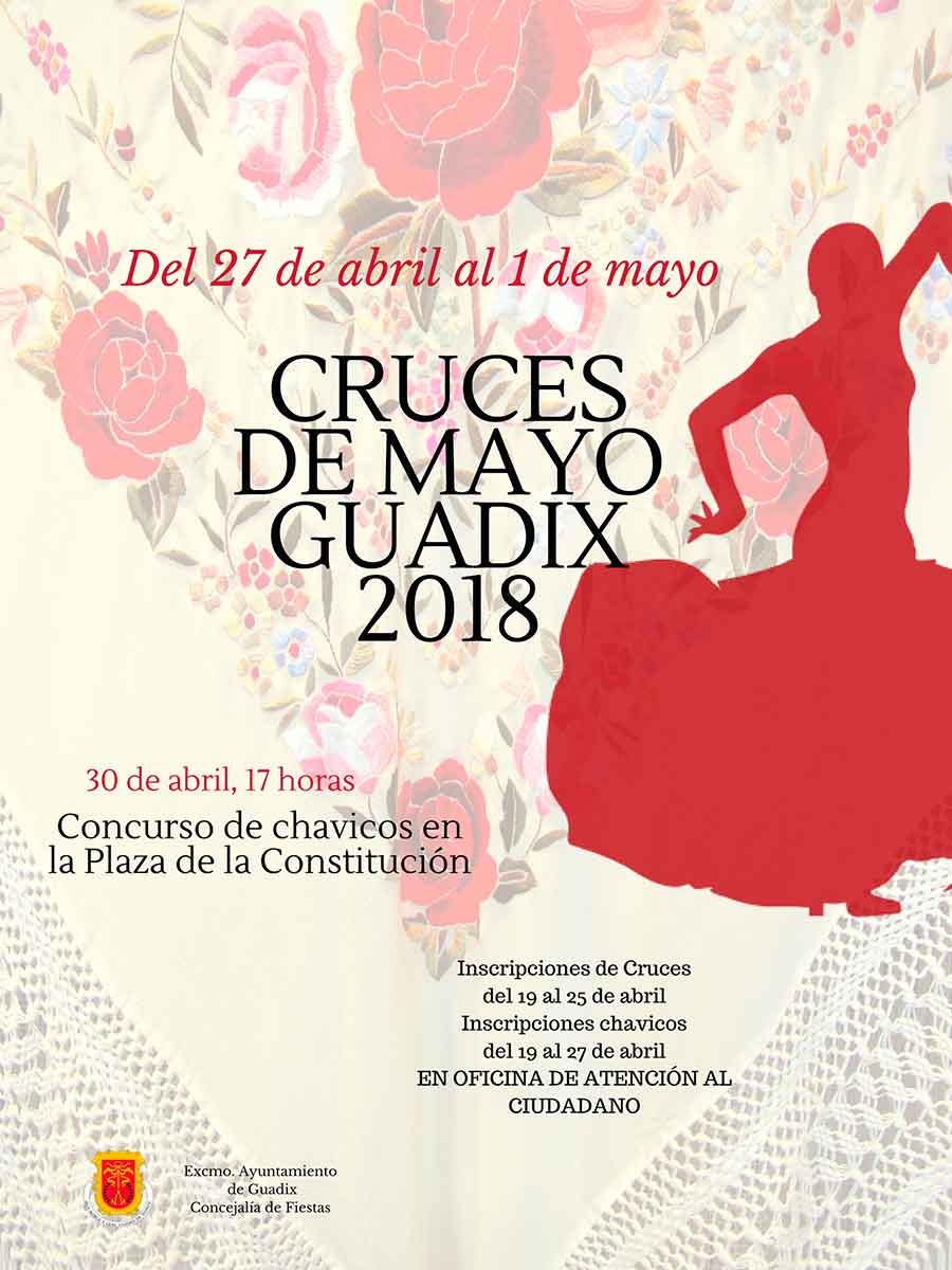 Cartel cruces Guadix 2018