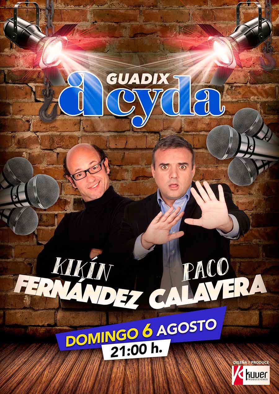 Paco Calavera y Kikin Fernandez en Guadix