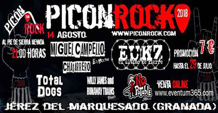 PicónRock 2018