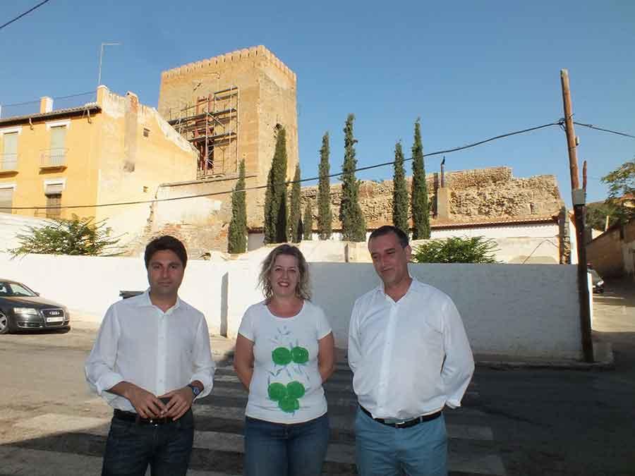 Ayudas a la Alcazaba de Guadix