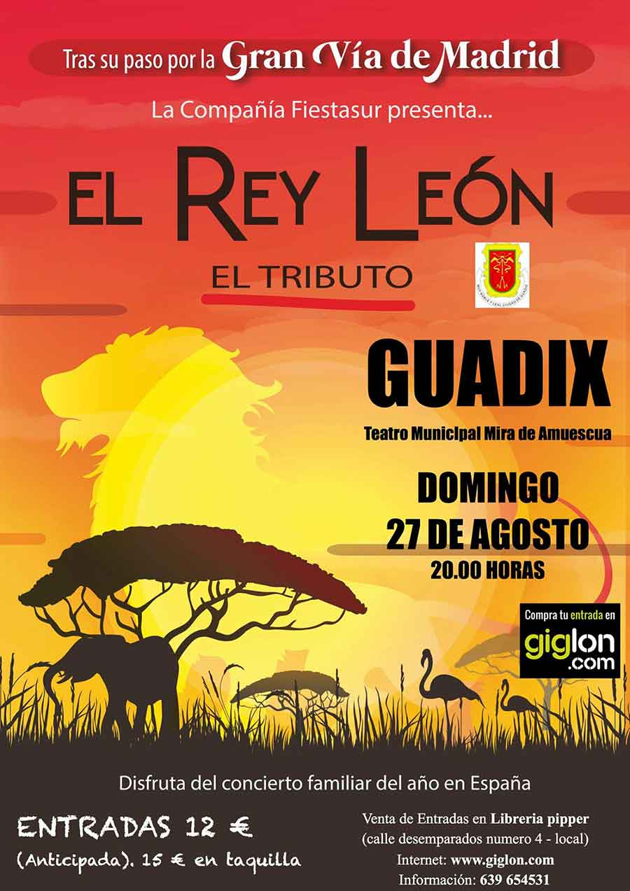El Rey Leon en Guadix