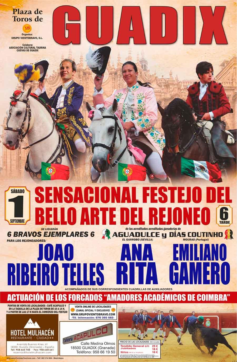Festejo de Rejoneo Feria de Guadix