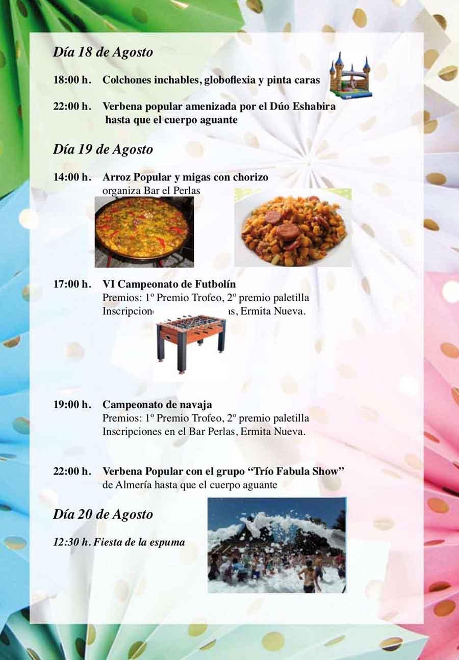 Programa de las fiestas de Gracia