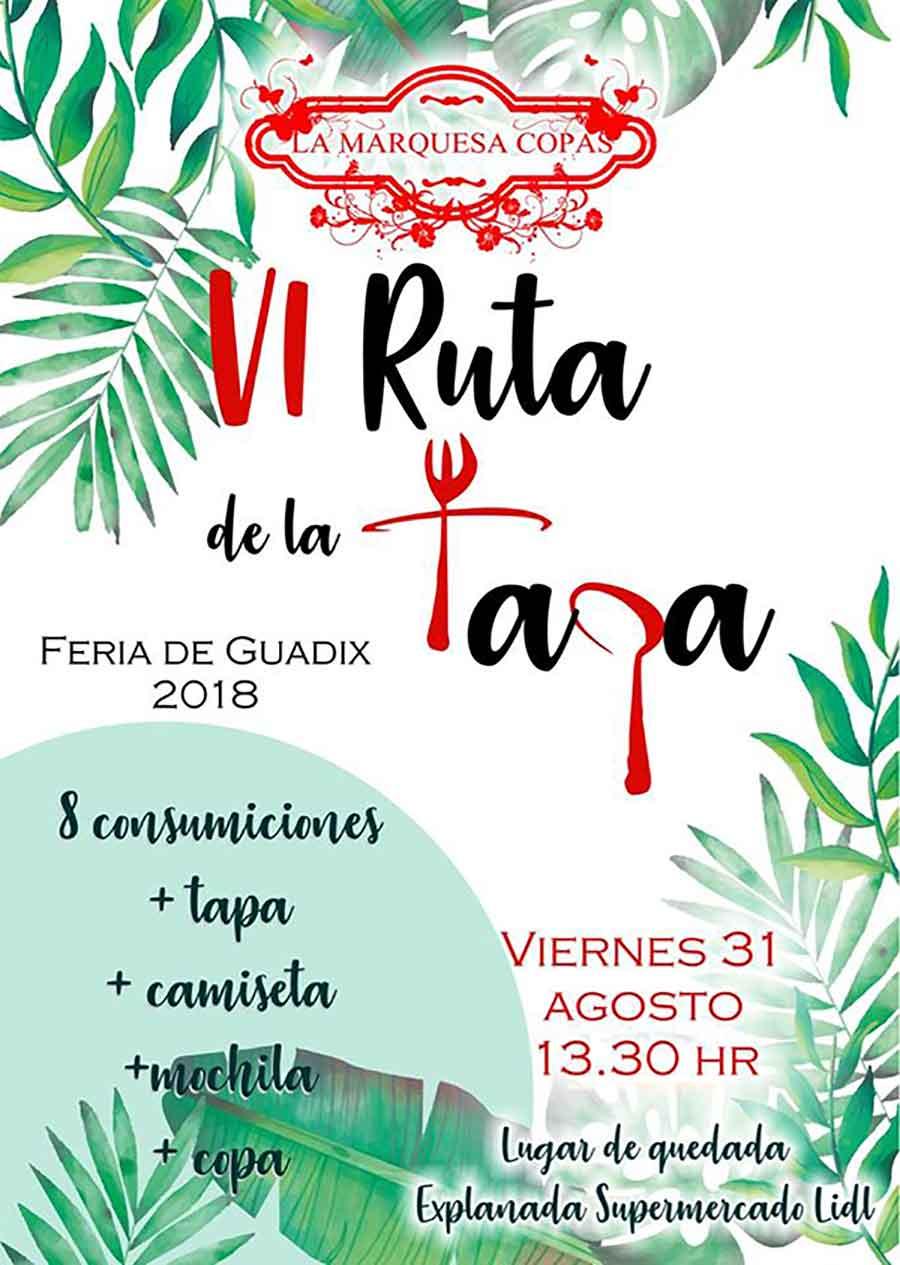 Ruta de la tapa Feria de Guadix
