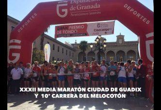Se consolida la participación en la XXXII Prueba de Fondo del Melocotón – X Media Maratón Ciudad de Guadix