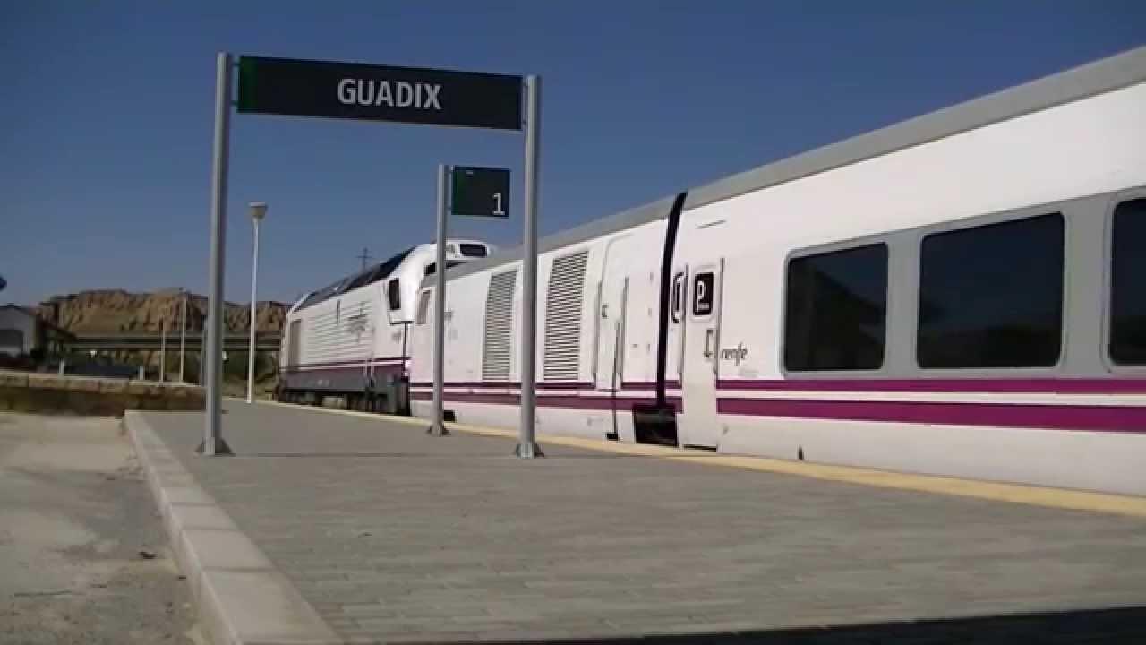Estación de tren de Guadix