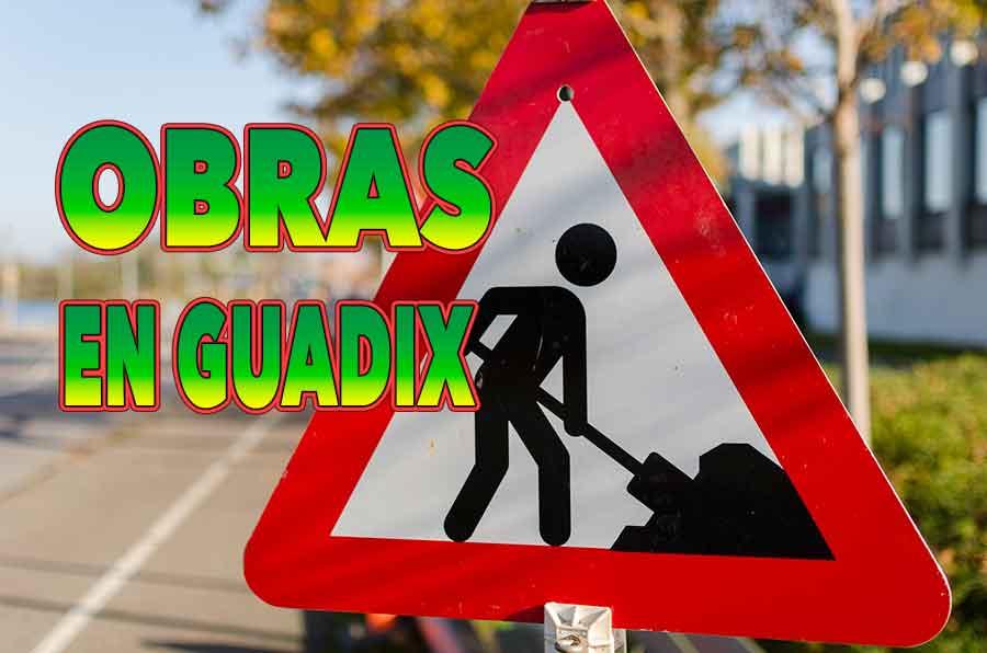 Obras en Guadix