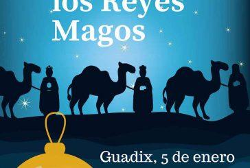 Diez carrozas, la música y espectáculos desfilarán en la Cabalgata de los Reyes Magos de Guadix