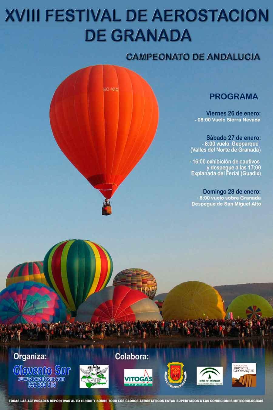 Festival aerostatico Guadix