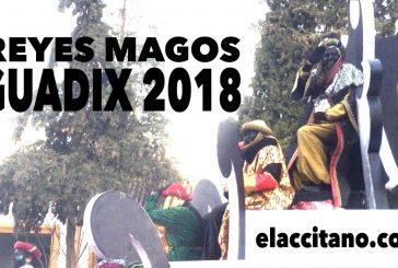 Cabalgata de Reyes magos en Guadix 2018