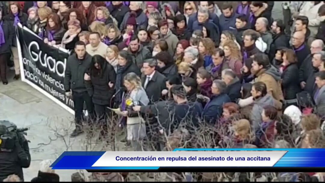 Declaración institucional en repulsa del asesinato machista de Mª Pilar Cabrerizo