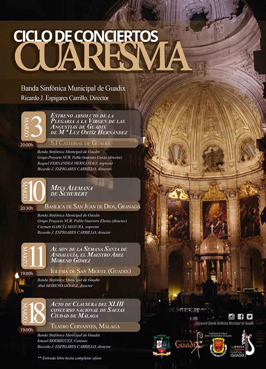 Ciclo conciertos Cuaresma