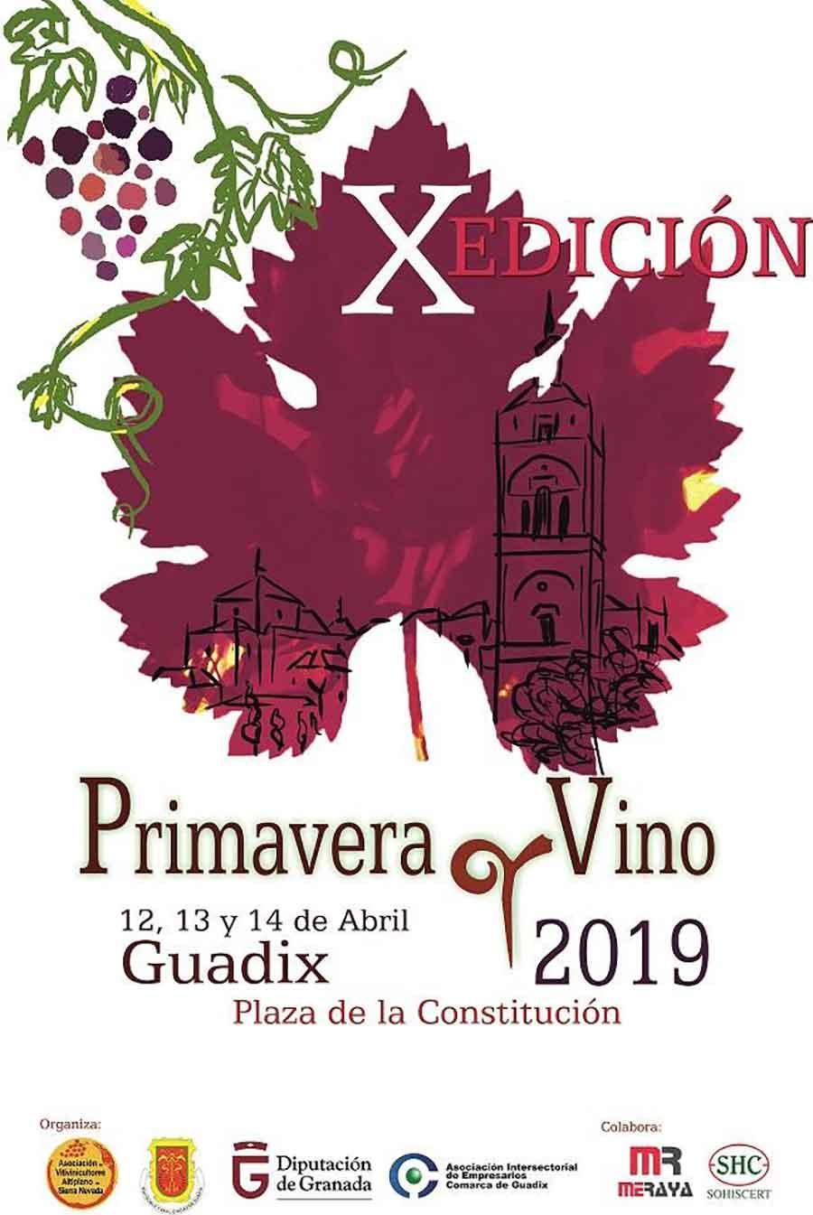 Primavera y vino Guadix 2019