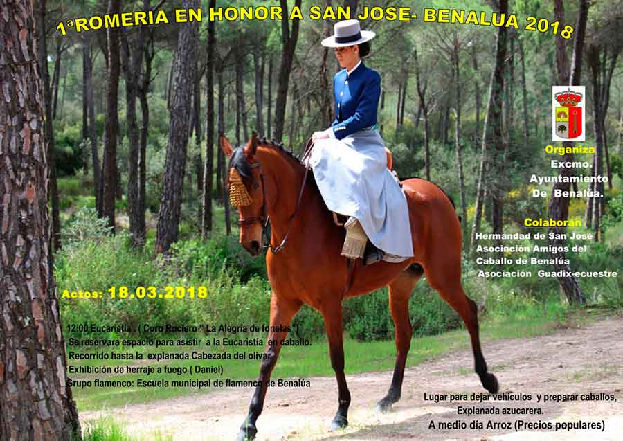 I Romería en Honor a San José, Patrón de Benalúa