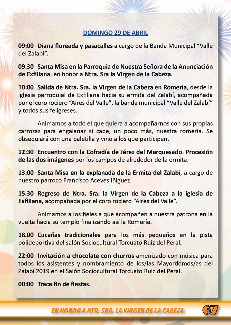Fiestas del Zalabí 2018