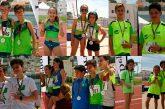 24 Medallas para los atletas de Juventud Atlética Guadix en los campeonatos provinciales disputados el pasado fin de semana en Almuñécar.
