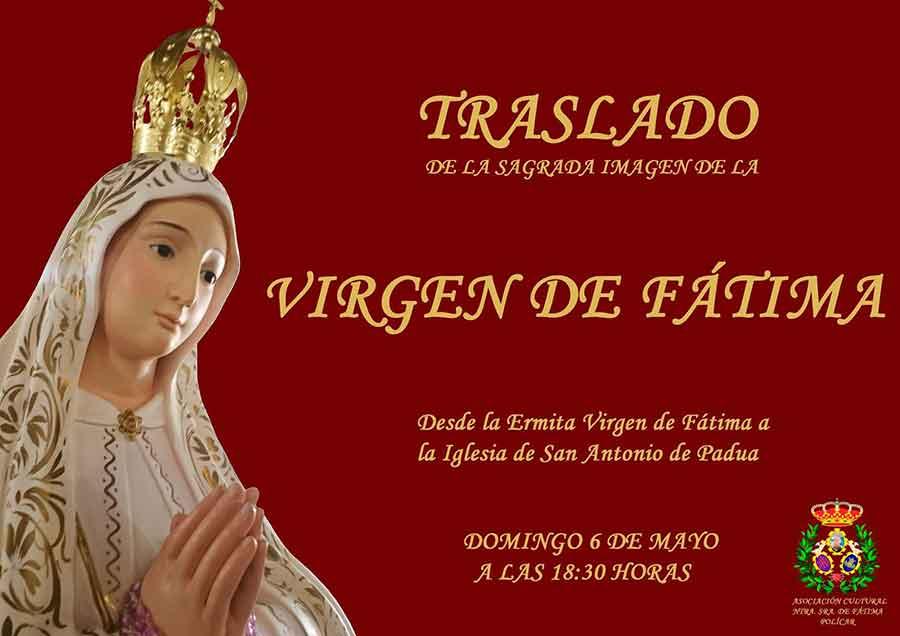 Virgen de Fátima en Policar