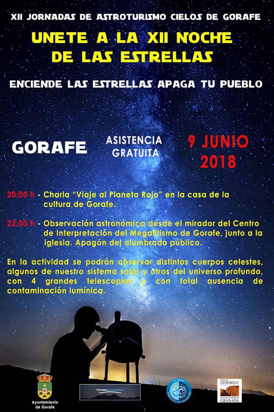 Astroturismo Gorafe