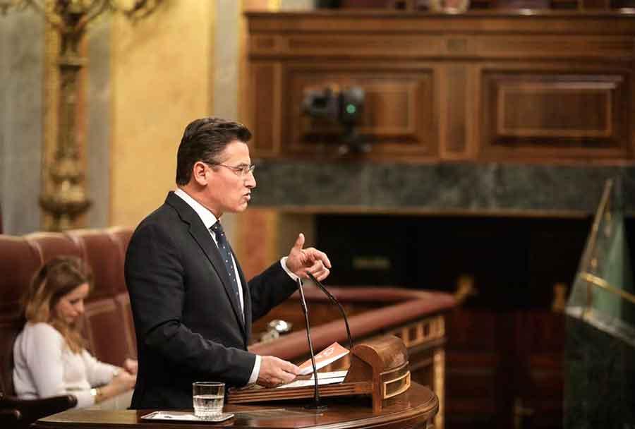 Luis Salvador en el congreso