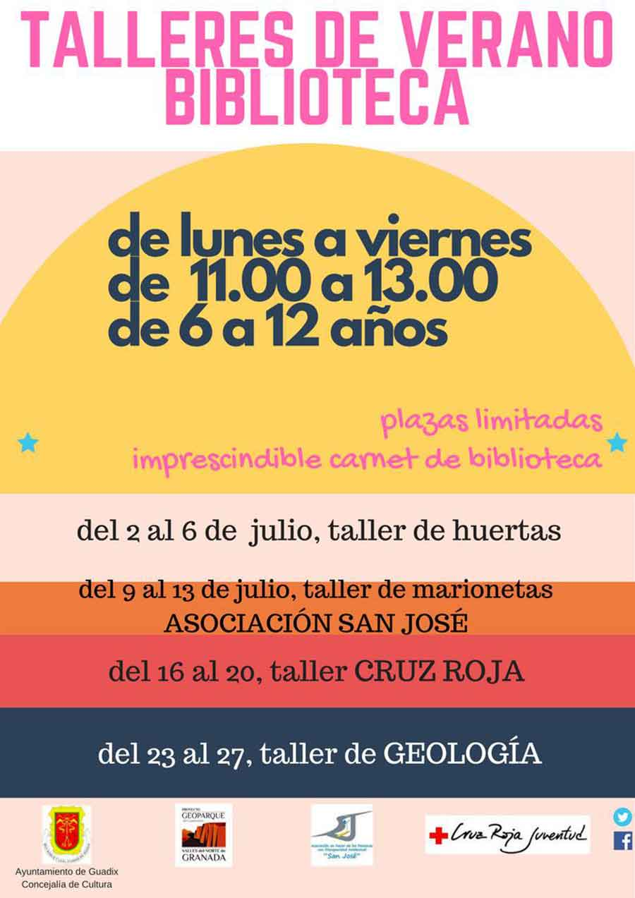 Talleres Biblioteca Guadix