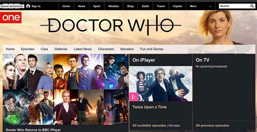 """La famosa serie británica """"Doctor who"""" elige nuestra comarca para grabar"""