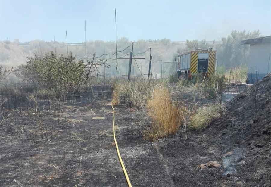 Incendio Guadix