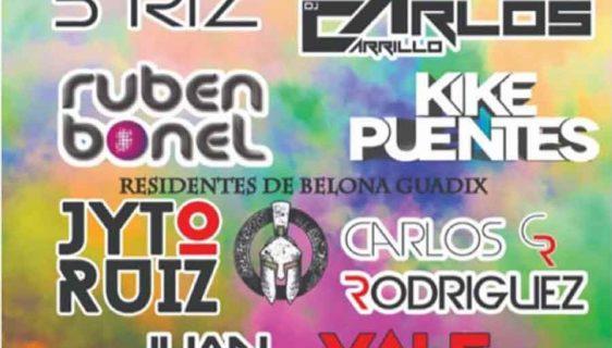 Holi festival Guadix