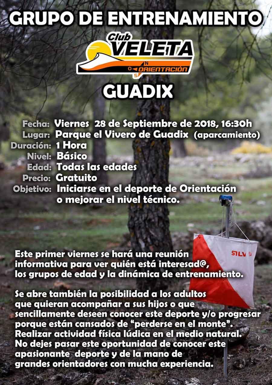 Club de orientación Veleta | Guadix