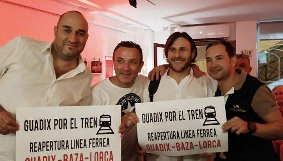 Guadix se une en la lucha por el tren