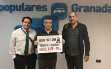 El PP de Guadix apoya Guadix por el tren