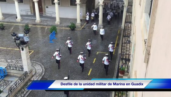 Acto militar del Cuerpo de Infantería de Marina en homenaje a Lope de Figueroa