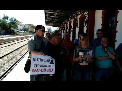 Comarca de Guadix por el Tren
