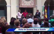 Susana Díaz visita Guadix