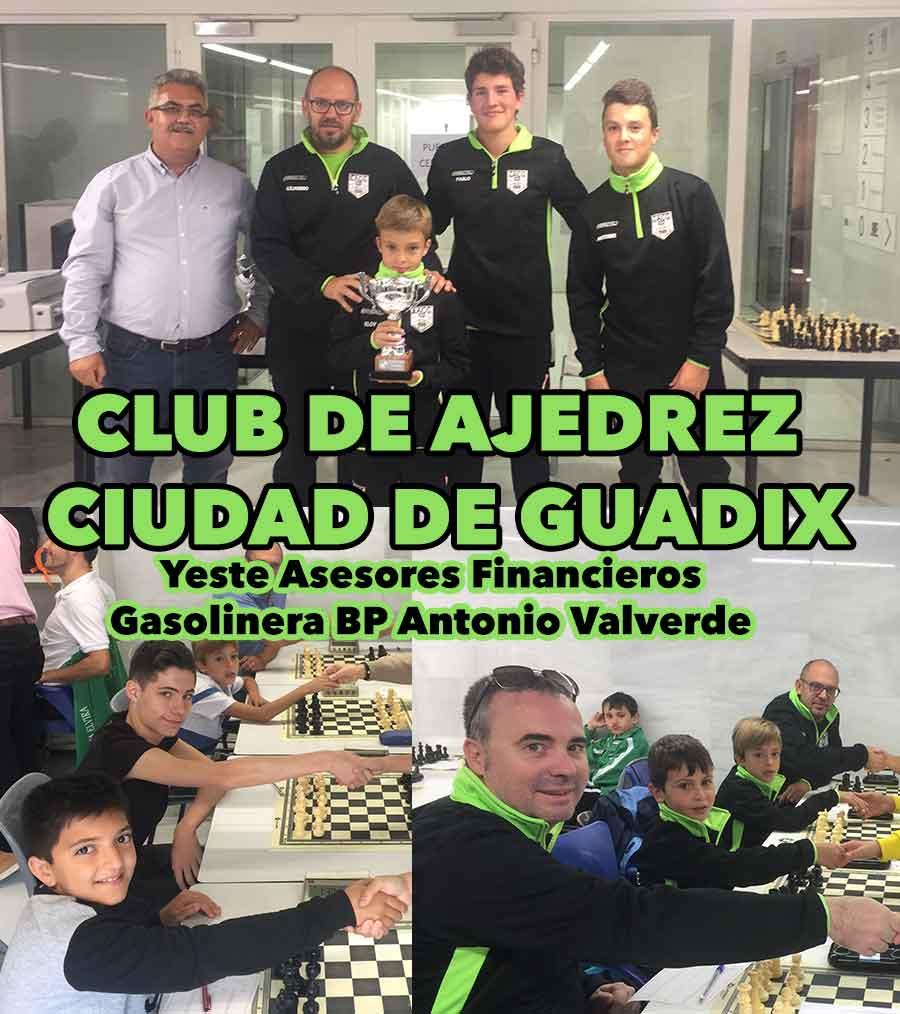 Ascenso Club de ajedrez Ciudad de Guadix