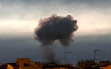 Gran explosión en pirotecnia de Guadix