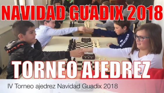 Torneo ajedrez Navidad Guadix