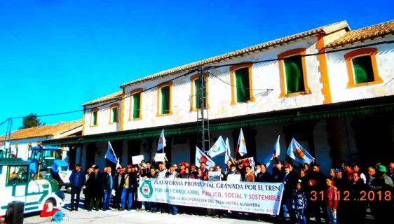 Guadix Baza por el tren
